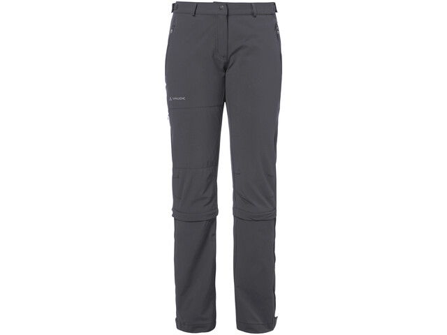VAUDE Farley II Pantalon convertible Stretch zippé Femme, iron
